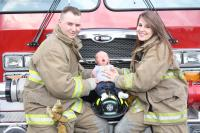 FF Jeff and Sarah Betz with son Jenson