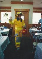 Fire Fighter Annie Bartley