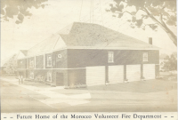 1974<br>Renovated Baptist Church into Fire Station at corner of Clay and Washington Street.